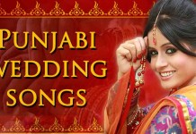 punjabi wedding dane songs
