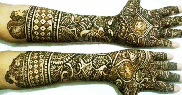 groom mehndi designs for full hands