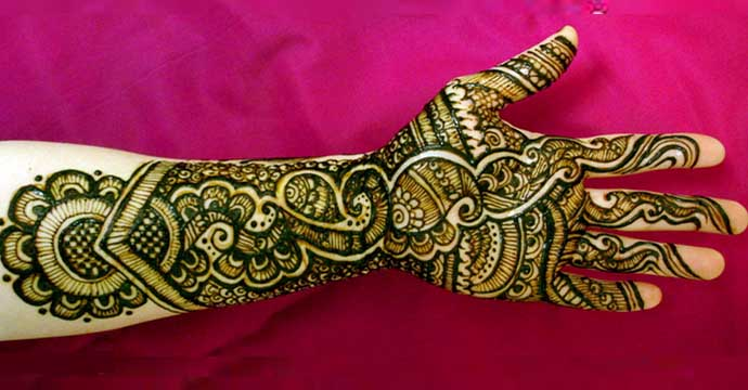 mehndi designs for indian dulha