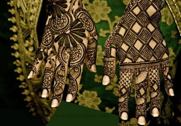 latest mehndi designs for groom