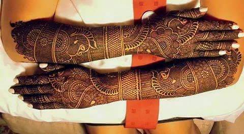 Mehndi Traditional Designs : Latest groom marriage mehndi designs for hands