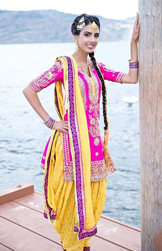 punjabi salwar kameez suits designs