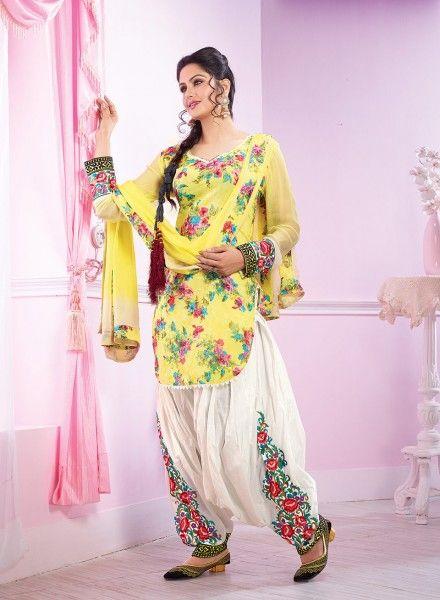 printed salwar kameez designs