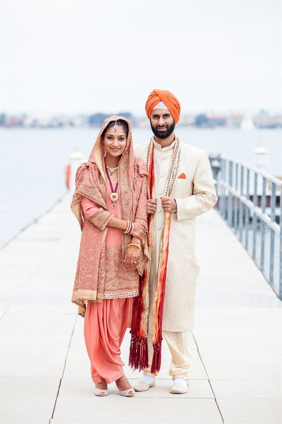 punjabi wedding dress for bride images
