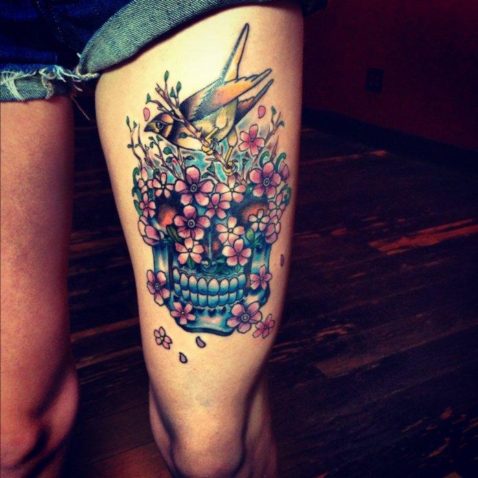 Cross Tattoo Design For Girls