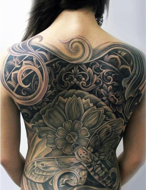 back body tattoo design