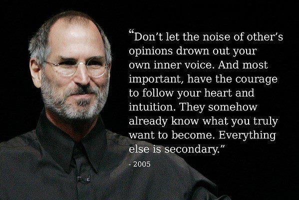Steve Jobs Inspirational Speech. Steveu0027s Quotes About Life
