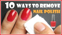 Best Ways How To Remove Nail Polish Without Remover ...