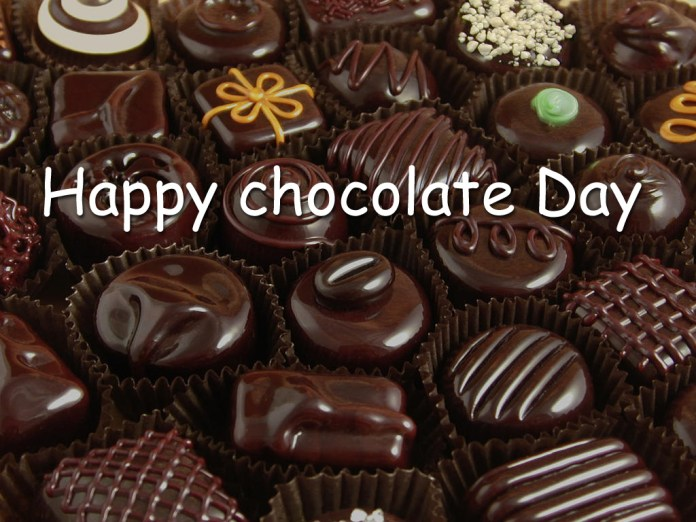 Happy chocolate day quotes images wishes whats app status wallpapers happy chocolate day images for girlfriend m4hsunfo