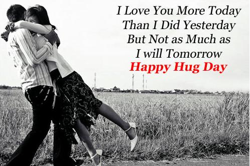 happy hug day love images
