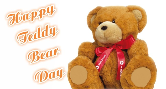 happy tedd bear day wishes