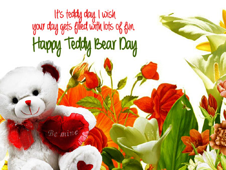 teddy bear day beautiful pictures