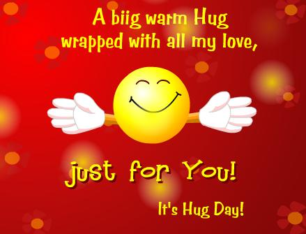 happy hug day joke images