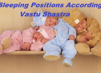 sleeping directions according to vastu