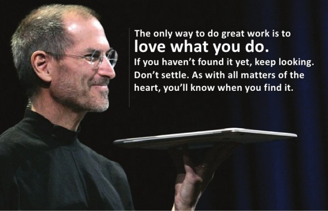jobs inspirational quotes on love