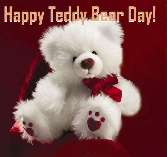 happy teddy bear day greetings
