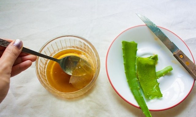 Honey and Aloe Vera