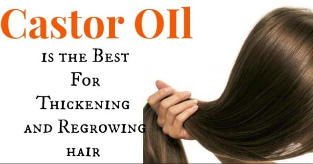 castor oil for hairs