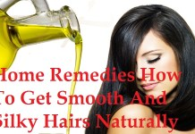 home remedies for smooth and shiny hair