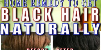 tips to get black hair