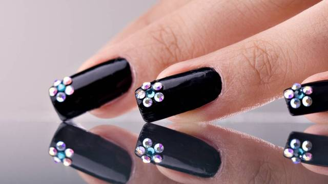 diamond nail art designs