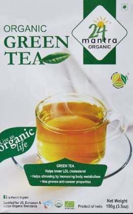 24 Mantra Organic Green tea