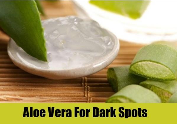 Aloe Vera For Dark Spots On Face