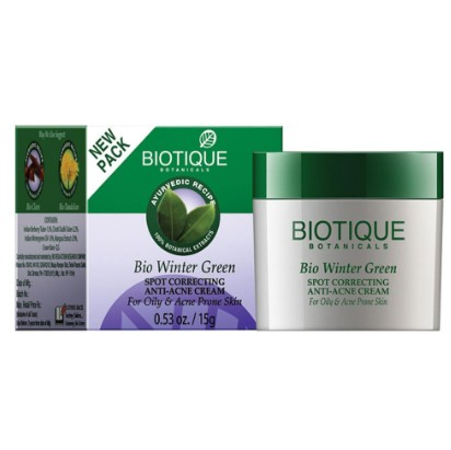 Biotique Bio Winter Green Spot Correcting Anti- Acne Cream