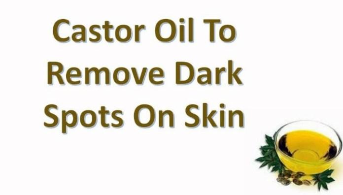 Castor Oil For Dark Spots On Face