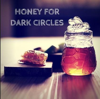 Honey Prevents Dark Circles