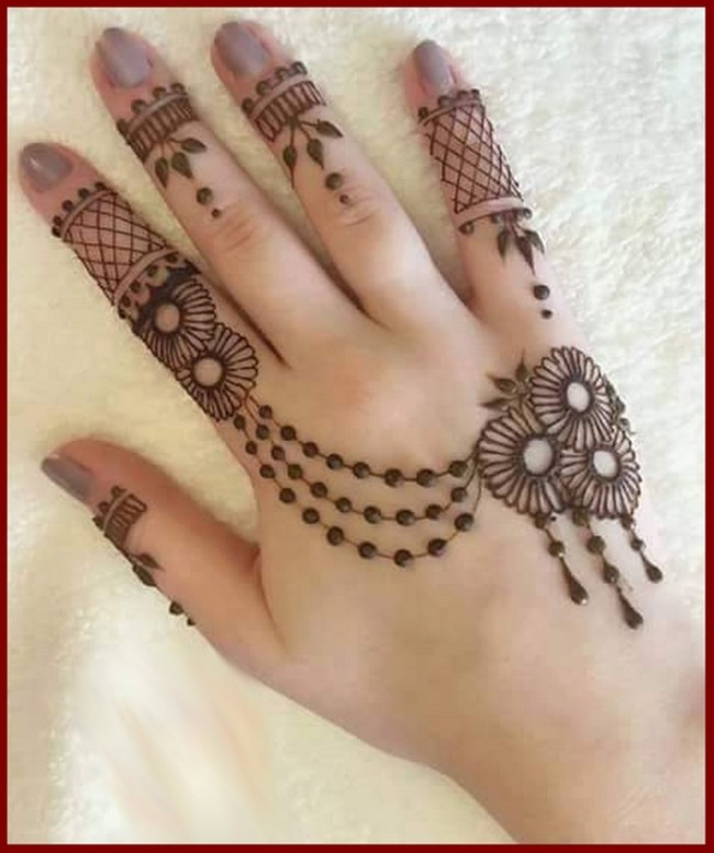 Top 50 Latest Arabic Mehendi Design Pictures For Hands Youme And