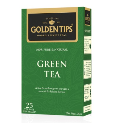 golden tips green tea