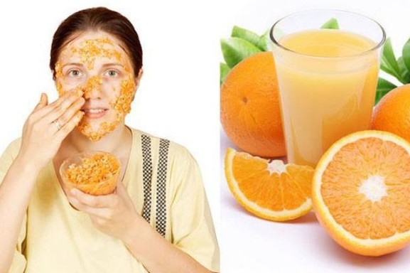 orange peel To Get Fair Skin
