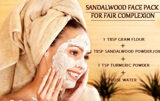 sandalwood powderTo Get Fair Skin