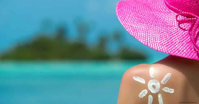 vitamin e removes sun burn
