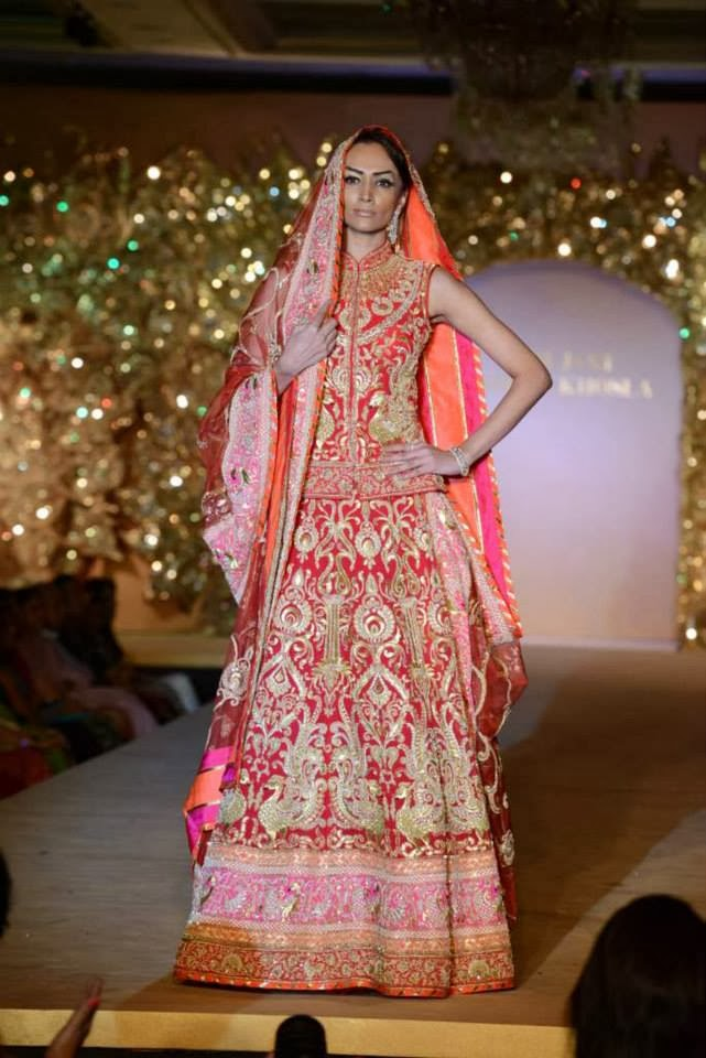 Abu Jani And Sandeep Khosla-Indian Bridal Wear Collection 2015