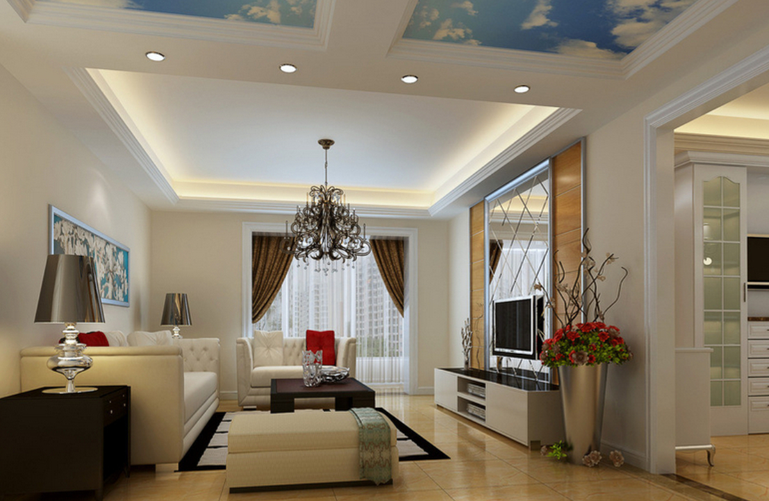 25 latest false designs for living room bed room for Best fall ceiling designs