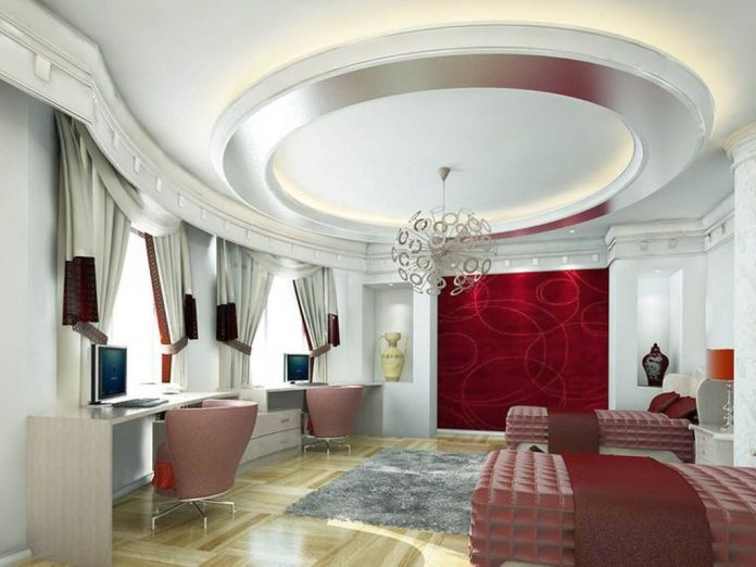 Cool False Ceiling Designs For Living Room