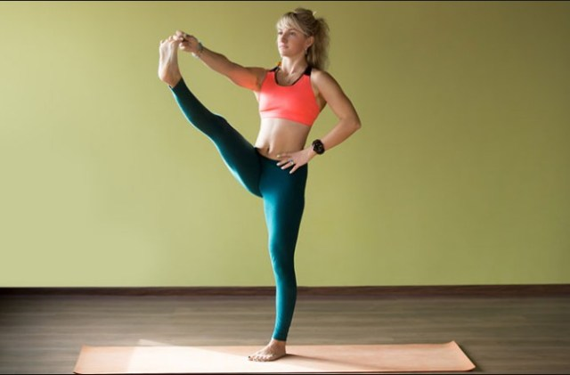 Extended Hand To Big Toe Pose For Weight Loss