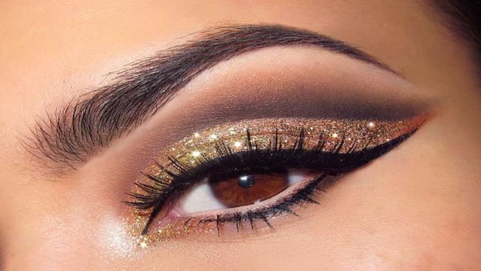 golden eye makeup