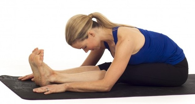 Seated Forward Bend Pose For Weig