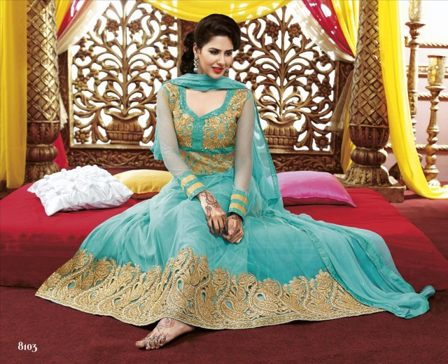 anarkali suit designs
