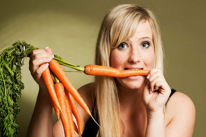 carrot juice for skin
