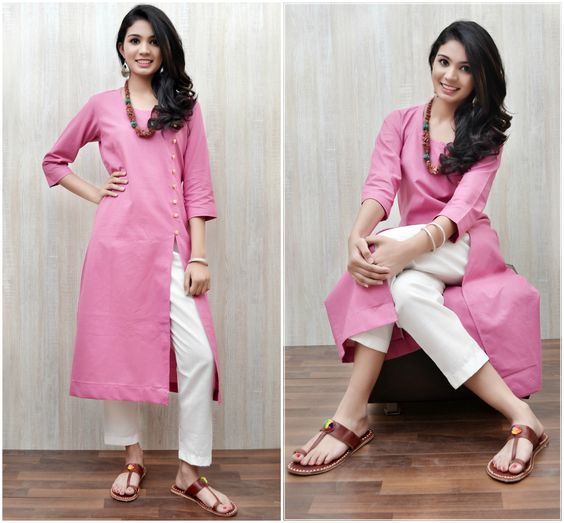 fancy kurti design