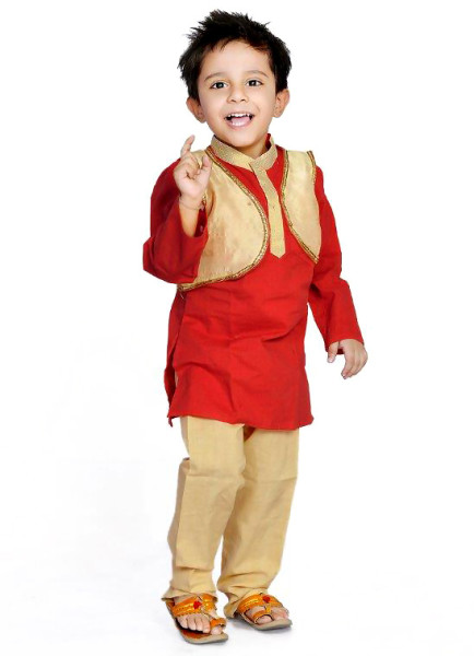 kids pajama kurta design