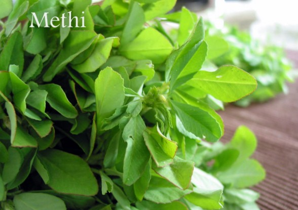 Fenugreek Leaves for blackheads
