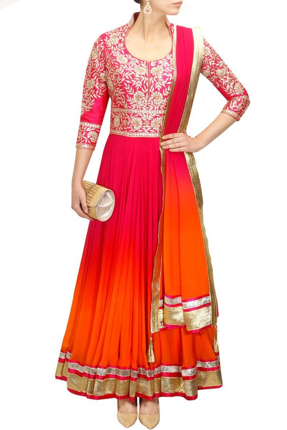 gotta patti work salwar kameez design