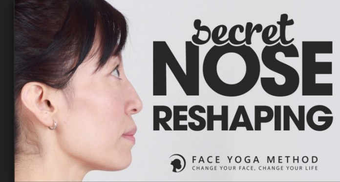 how to reshape your nose