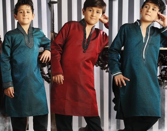 kurta pajama designs for kids