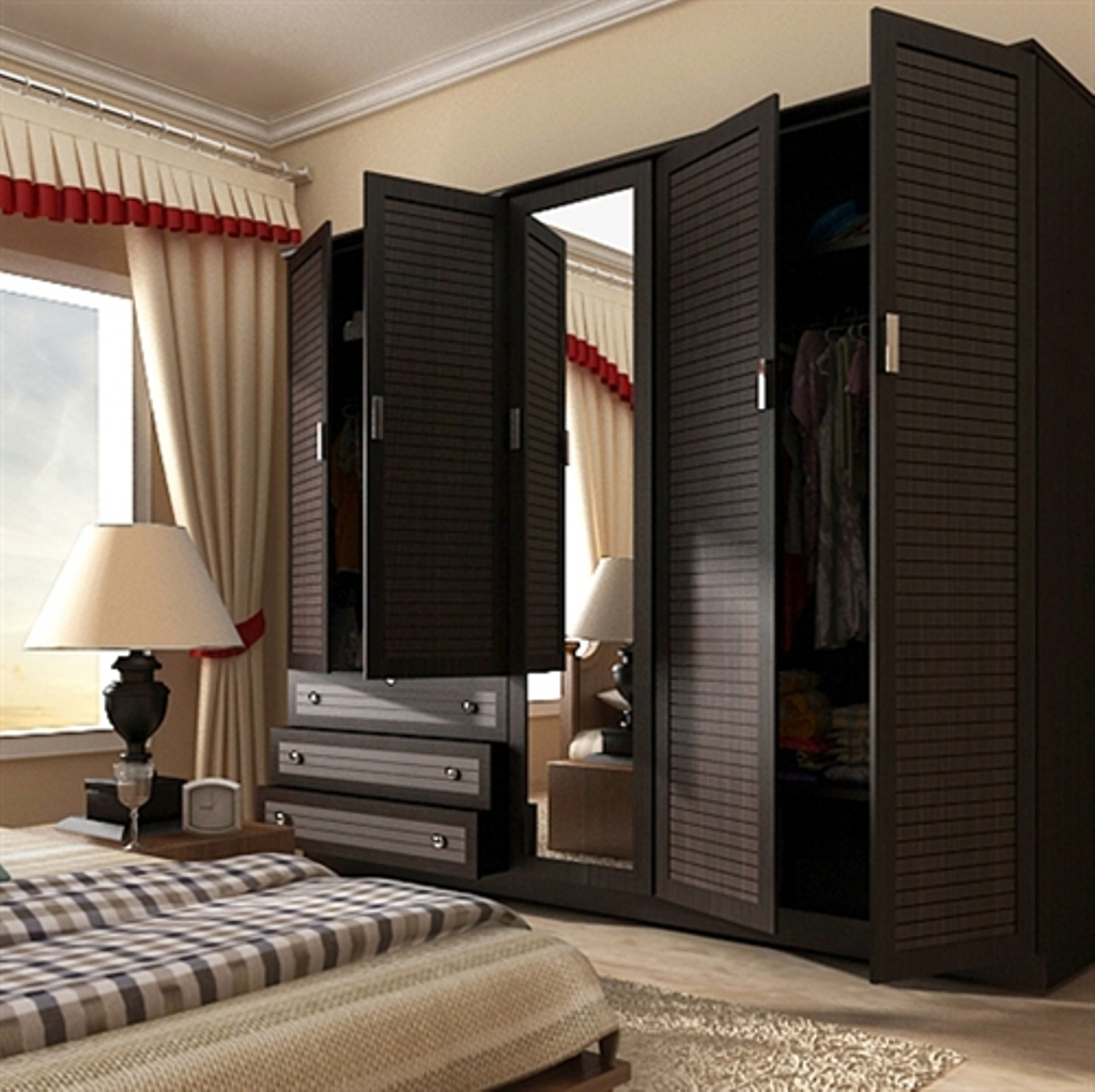 The Black Color Wardrobe looks really attractive when it comes to how it  looks. latest wardrobe design ...